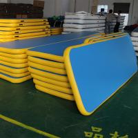 Completely Silent Inflatable Yoga Mateasy Maintenance For Amusement Park Manufactures
