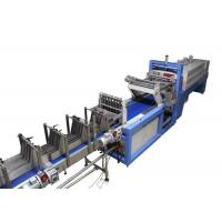 Printed Film Shrink Wrap Equipment 7940 * 1650 * 2600mm For Bottles Cans Manufactures