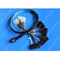 1M Serial Attached SCSI Cable Mini SAS 36-Pin Male To SAS 29-Pin Female Cable Manufactures