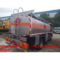 Quality high quality JAC 5500L oil tanker fuel transport truck for sale, Bottom price for sale