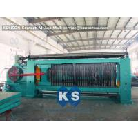 Heavy Duty Gabion Mesh Machine Net Weaving Machine 80x100mm Netting Width 4300mm Manufactures