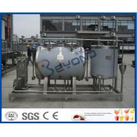 Manually / Automatic Clean In Place Equipment , Clean In Place Cip System In Food Industry Manufactures