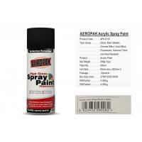 Quality AEROPAK acrylic Spray Paint for car 400ml cream white with SGS certificate for sale