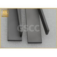 High Hardness Tungsten Carbide Strips For Roughing Of Iron / Solid Wood Manufactures