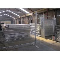 Public Security Event Steel Temporary Fencing Weather Resistant And Durable Manufactures