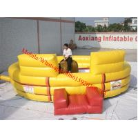 inflatable bull ride hot sale inflatable mechanical bull inflatable bull ring Manufactures