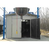 Commercial Turnkey Sandblasting Booth / Painting Rooms With Electric Control System Manufactures