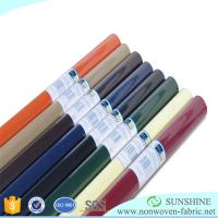 Colorful PP spunbond nonwoven fabric,polypropylene,wrapping paper for flower,printed nonwoven,black fabric table clothes Manufactures
