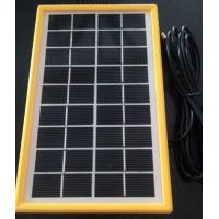3 Watt Hot Water Mini Solar Panels , Light Weight Small Solar Plate PV Cell Manufactures