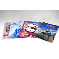 4/4C Fancy Paper Saddle Stitch Book Binding , Full Color Offset Printing Manufactures