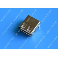 Mini SMD AF Type USB Charging Connector , USB 2.0 4 Pin USB Connector Manufactures