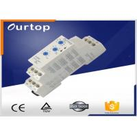 Buy cheap White CE / CB / IEC Multifunction Timer Relay 0.05s ~10H Can Be Customized from wholesalers