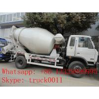 High quality and cheapest price dongfeng 4m3 90hp concrete mixer truck for sale,factory sale mixer dum mounted on truck Manufactures