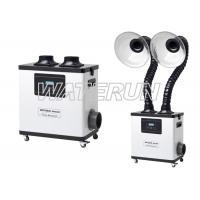 Buy cheap 110V White Moxibustion nail salon fume extractor Equipment with Double Arms from wholesalers