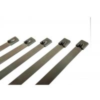 Strong Steel Stainless Steel Cable Ties Straps For Cable Wiring Prompt Delivery Manufactures