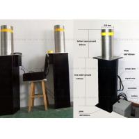 Car Parking Traffic Protect Hydraulic Bollards / Automatic Rising Bollards Manufactures