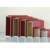 Quality Commercial Office Curtain Wall Anodized Aluminium Profile Preciously Cutting for sale