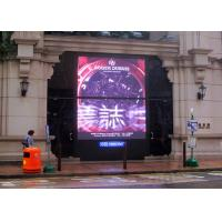 High Resolution P6 Outdoor SMD Led Display , Led Billboard Advertising with 6000cd/㎡ Brightness Manufactures