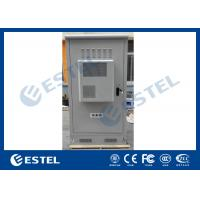 Waterproof Outdoor Telecom Cabinets , Outdoor Equipment Cabinet With Air Conditioner