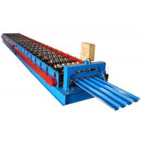 Automatic Roof Panel Roll Forming Machine , Roofing Sheet Making Machine Manufactures