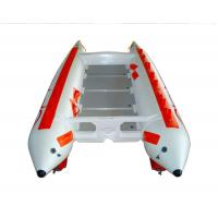 3 Person 0.9mm PVC High Speed Inflatable Boats With Stainless Steel Tail Manufactures