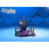 Colorful Space - Time 9D VR Simulator Walking Platform Shooting Game Machine Manufactures