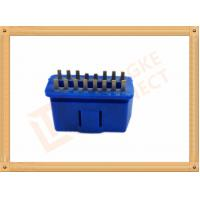 PVC BLUE OBDII 16 Pin Male OBD Diagnostic Connector CK-SOM002B Manufactures