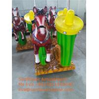 Quality Best Arcade Game Machine Supplier Europe Coin Operated Pony Rides For Sale for sale