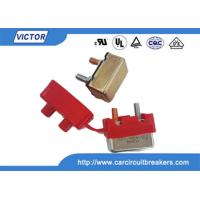 Automatic Bimetal Temperature Switch , Thermal Circuit Breaker Hand Reset Button Manufactures