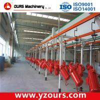 Stainless Steel Automated Powder Coating Line with Customized size and color Manufactures