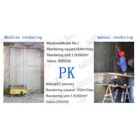 220V Automatic Rendering Machine / Hydraulic System Ritmo Plastering Machine Manufactures