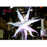 Decoration Near Me Inflatable Led Star For Event Decoration , Ripstop Nylon Manufactures