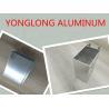 Mechanical Polishing Aluminum Window Profiles Shining Surface Silver White Manufactures
