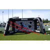 Inflatable football goal target toss Inflatable Mega Goal Soccer Outdoor Sports Set Manufactures
