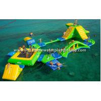 Outdoor Inflatable Water Park For Adults , Inflatable Water Playground Manufactures