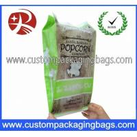 Eco - Friendly Plastic Popcorn Plastic Food Packaging Bags , Recycle Packaging Bags Manufactures