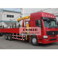 5 Ton Lifting Hydraulic Truck Crane Construction Machinery for 12.5 T.M Max Lifting Moment Manufactures