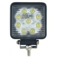27W 5 Inch Square Automotive Led Work Lights Head Lamp for Off road Vehicles Manufactures