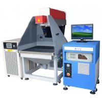 Leather / Cloth / Bamboo / Paper 3D Laser Marking Device 180 W Manufactures