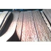 Reddish Makore Quarter Cut Veneer With Strong Figured Grain Manufactures