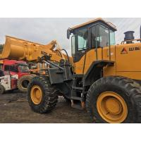 SDLG LG956L Second Hand Wheel Loaders For Building Hydraulic Pilot Control Manufactures