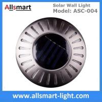 UFO Round Solar Wall Lights RGB Solar Inderground Lamp Solar Pathway Lawn Light Solar Dock Deck Light Solar Stair Light Manufactures