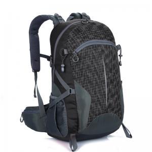Free LOGO Lightweight Travel Backpack Black  40L Wear Resistant Waterproof Manufactures