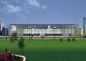 China Agriculture Multi Span Polycarbonate Sheet Greenhouse on sale