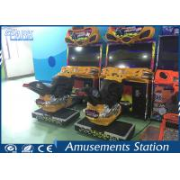 Electronic FF Motorbike Racing Game Machine 250W Online Compete Game Manufactures