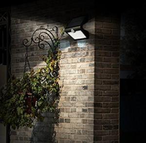 Quality 280 Lumens Solar Powered Motion Sensor Light , LED Solar Emergency Light for sale