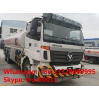 Hot Sale Foton Auman 20000 liters heavy duty oil tank truck, factory sale oil delivery trucks exported to Turkmenistan Manufactures