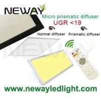 China 40W Dimmable 595x595 LED Panel Lighting with IR Remote Control Dimmer on sale