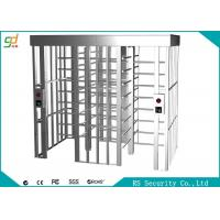 Stainless Steel Full Height Turnstiles Bi-direction Access Control Gate Turnstile Manufactures