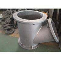 High Strength Carbon Steel Casting , Carbon Steel Tee For Railway / Bridge Industrial Manufactures